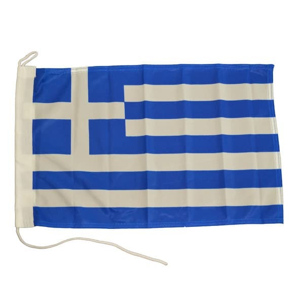 Ελληνική σημαία ορθογώνια 01244-100Hel, Eval