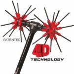 Παλμικό ελαιοραβδιστικό x.Quattro 12V 2.4m, Agrotechnic