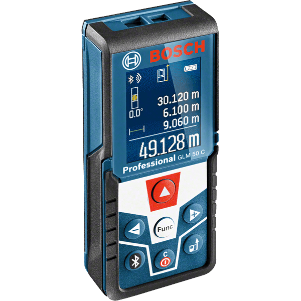 Μετρητής αποστάσεων με λέιζερ GLM 50 C Professional, Bosch