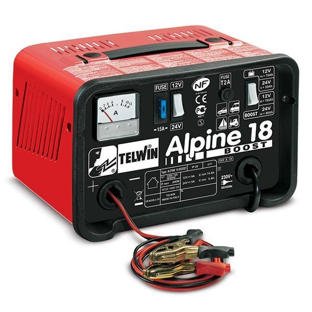 Φορτιστής μπαταριών Alpine 18 Boost, Telwin