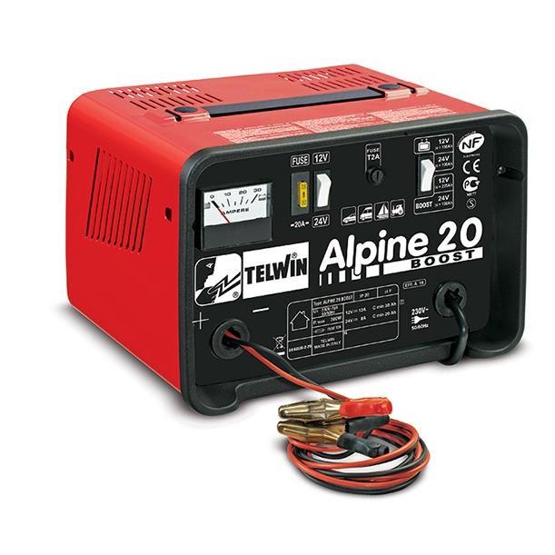 Φορτιστής μπαταριών Alpine 20 Boost, Telwin