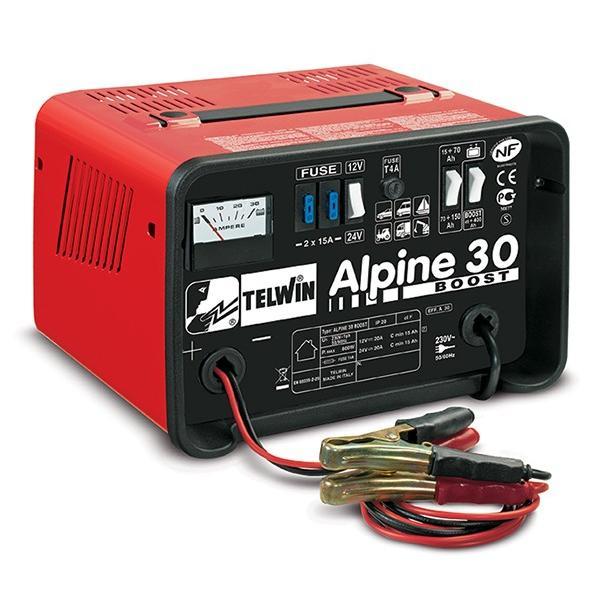Φορτιστής μπαταριών Alpine 30 Boost, Telwin