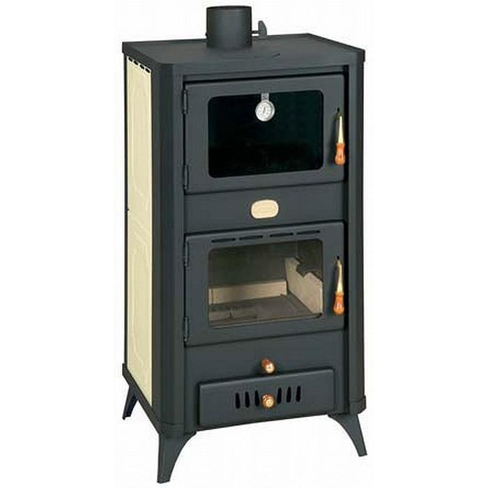 Ατσαλένια Ξυλόσομπα με Boiler Prity FG W18R