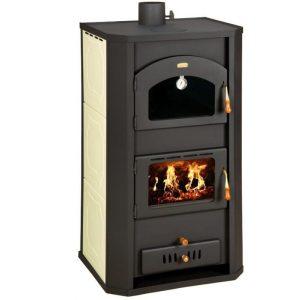 Ατσαλένια Ξυλόσομπα με Boiler Prity FG W20