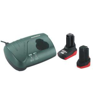 Σετ μπαταρίες λιθίου 2 τεμ. 10.8V  2,0Ah - 5.2Ah & Φορτιστής LC 40