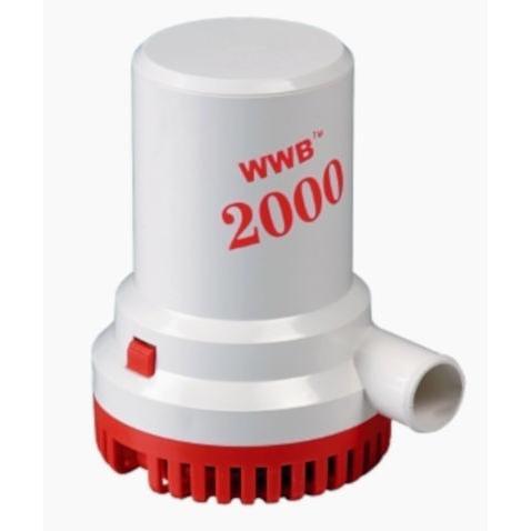 Αντλία σεντίνας WWB 2000 24V, 03958-24