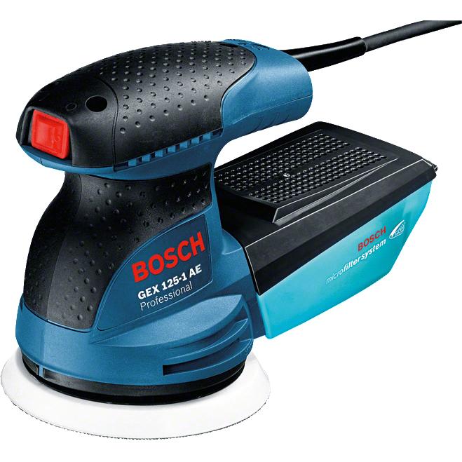 Έκκεντρο τριβείο GEX 125-1 AE Professional, Bosch